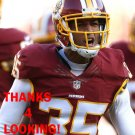 DASHAUN PHILLIPS 2015 WASHINGTON REDSKINS FOOTBALL CARD