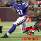 JOSH KADDU 2015 MINNESOTA VIKINGS FOOTBALL CARD