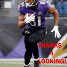 CAM WORTHY 2015 BALTIMORE RAVENS FOOTBALL CARD
