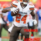 JOHNSON BADEMOSI 2015 CLEVELAND BROWNS FOOTBALL CARD