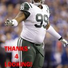 T.J. BARNES 2015 NEW YORK JETS FOOTBALL CARD