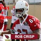 ROB CRISP 2015 ARIZONA CARDINALS FOOTBALL CARD