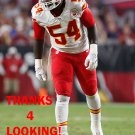 DEZMAN MOSES 2015 KANSAS CITY CHIEFS FOOTBALL CARD