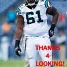 FERNANDO VELASCO 2015 CAROLINA PANTHERS FOOTBALL CARD