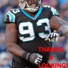KYLE LOVE 2015 CAROLINA PANTHERS FOOTBALL CARD