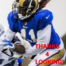 TROVON REED 2015 ST. LOUIS RAMS FOOTBALL CARD