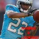 LOU YOUNG 2015 CAROLINA PANTHERS FOOTBALL CARD