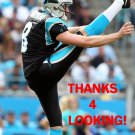 BRAD NORTMAN 2015 CAROLINA PANTHERS FOOTBALL CARD
