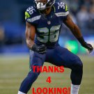 RYAN MURPHY 2015 SEATTLE SEAHAWKS FOOTBALL CARD