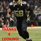 OBUM GWACHAM 2015 NEW ORLEANS SAINTS FOOTBALL CARD
