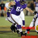 BOB VARDARO 2015 MINNESOTA VIKINGS FOOTBALL CARD