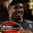 VON MILLER 2015 SUPER BOWL 50 MVP DENVER BRONCOS FOOTBALL CARD