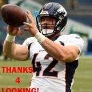 JOE DON DUNCAN 2015 DENVER BRONCOS FOOTBALL CARD