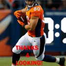 JAMES CASEY 2015 DENVER BRONCOS FOOTBALL CARD