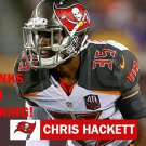 CHRIS HACKETT 2015 TAMPA BAY BUCCANEERS FOOTBALL CARD