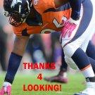 VANCE WALKER 2015 DENVER BRONCOS FOOTBALL CARD