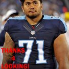 ISAAKO AAITUI 2015 TENNESSEE TITANS FOOTBALL CARD