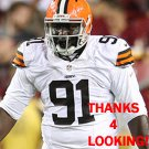 CALVIN BARNETT 2014 CLEVELAND BROWNS FOOTBALL CARD