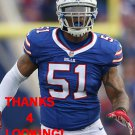 KEVIN REDDICK 2015 BUFFALO BILLS FOOTBALL CARD