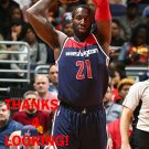 J.J. HICKSON 2015-16 WASHINGTON WIZARDS BASKETBALL CARD