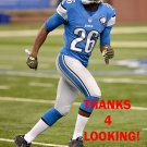 DON CAREY 2015 DETROIT LIONS FOOTBALL CARD