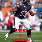 CHRISTIAN JONES 2014 CHICAGO BEARS FOOTBALL CARD