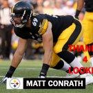 MATT CONRATH 2015 PITTSBURGH STEELERS FOOTBALL CARD