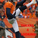 BRITTON COLQUITT 2015 DENVER BRONCOS FOOTBALL CARD