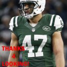 KELLEN DAVIS 2015 NEW YORK JETS FOOTBALL CARD