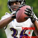 NICK PERRY 2015 BALTIMORE RAVENS FOOTBALL CARD
