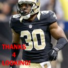 AKEEM DAVIS 2015 NEW ORLEANS SAINTS FOOTBALL CARD