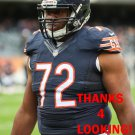 CHARLES LENO 2014 CHICAGO BEARS FOOTBALL CARD