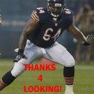 DEREK DENNIS 2013 CHICAGO BEARS FOOTBALL CARD