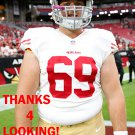NICK EASTON 2015 SAN FRANCISCO 49ERS FOOTBALL CARD