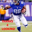 JEROME CUNNINGHAM 2015 NEW YORK GIANTS FOOTBALL CARD