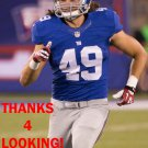 COLE FARRAND 2015 NEW YORK GIANTS FOOTBALL CARD