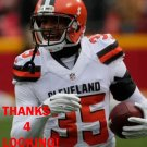 DON JONES 2015 CLEVELAND BROWNS FOOTBALL CARD