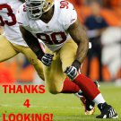 DARNELL DOCKETT 2015 SAN FRANCISCO 49ERS FOOTBALL CARD