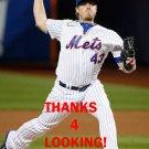 ADDISON REED 2016 NEW YORK METS BASEBALL CARD