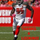 JOSH MARTIN 2015 TAMPA BAY BUCCANEERS FOOTBALL CARD