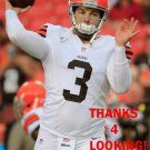 REX GROSSMAN 2014 CLEVELAND BROWNS FOOTBALL CARD