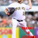 JONATHON NIESE 2016 PITTSBURGH PIRATES BASEBALL CARD