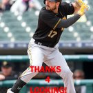 MATT JOYCE 2016 PITTSBURGH PIRATES BASEBALL CARD