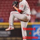 DAVID HERNANDEZ 2016 PHILADELPHIA PHILLIES  BASEBALL CARD