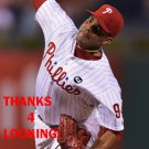 DALIER HINOJOSA 2016 PHILADELPHIA PHILLIES  BASEBALL CARD