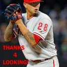 VINCE VELASQUEZ 2016 PHILADELPHIA PHILLIES  BASEBALL CARD
