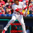 CEDRIC HUNTER 2016 PHILADELPHIA PHILLIES  BASEBALL CARD