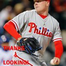 DANIEL STUMPF 2016 PHILADELPHIA PHILLIES  BASEBALL CARD