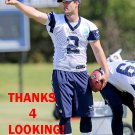 MATT WILE 2016 DALLAS COWBOYS FOOTBALL CARD