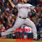 TOMMY HUNTER 2016 CLEVELAND INDIANS BASEBALL CARD